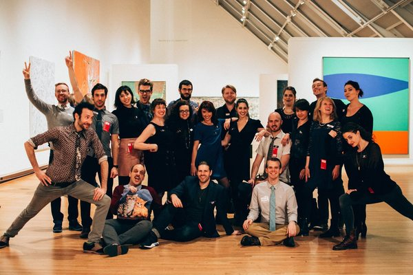 Some of the Museum Hack NYC team, last night at the Met