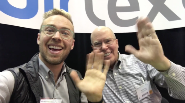 VIDEO: Me and my father, at NBAA 2016 for his new company
