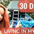LIVING IN MY CAR FOR 30 DAYS #1