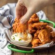 The BEST Fried Buffalo Wings (Gluten Free) - The Cookie Rookie
