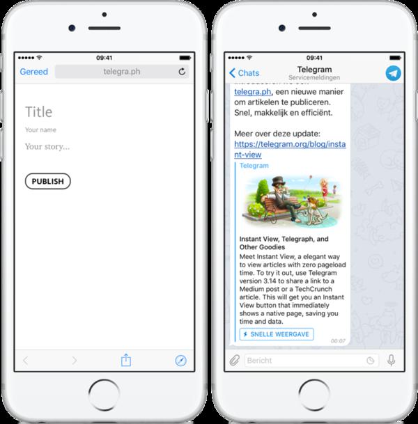Bloggen op Telegram (klik voor meer info)