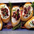 Cranberry Pecan Crostini Appetizers - The Gardening Cook