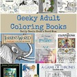 Geeky Adult Coloring Books | Daily Deals from a Nerd Mom