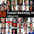 50 Top Content Marketing Influencers to Follow