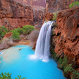Havasu Falls in the Grand Canyon : Travels