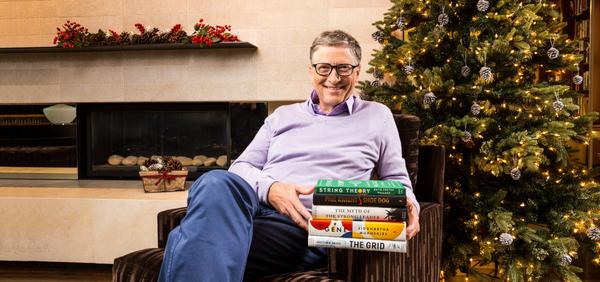 Bill Gates' Favorite Books of 2016
