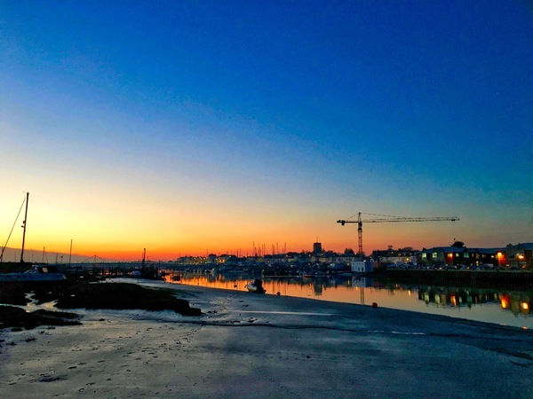 View up the Adur - January 2016