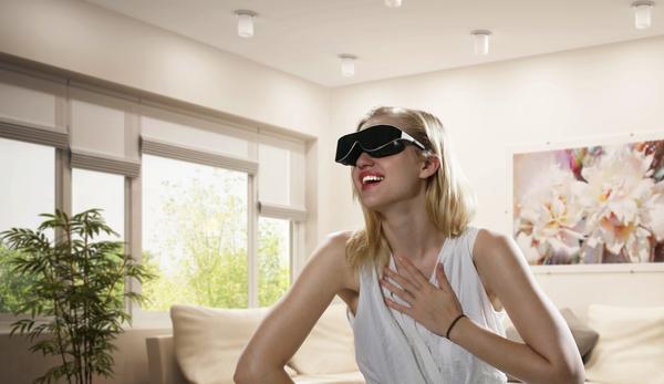 A rosy future of virtual reality. (copyright Shenzhen Dlodlo Technology Ltd.)