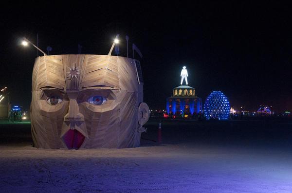 Burning Man is an annual event in Nevada's Black Rock desert described as an experiment in community, art, radical self-expression, and radical self-reliance.