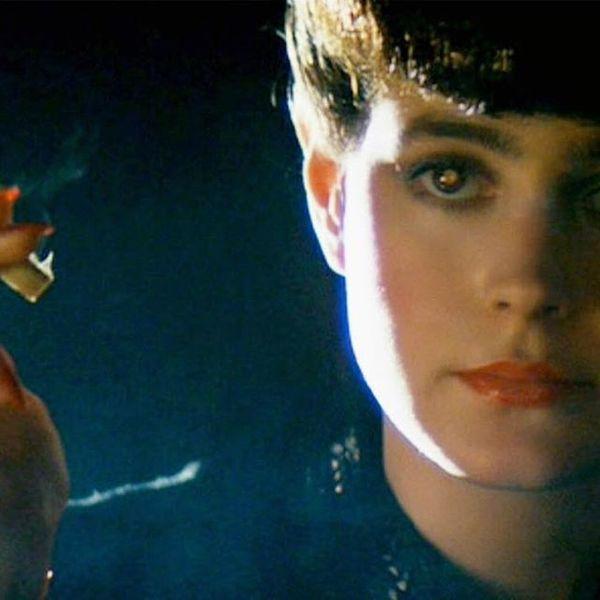 "Sean Young en ""Blade Runner"" (1982)."