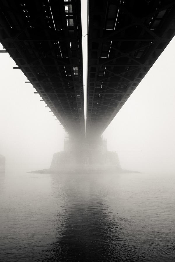 …maakte ik deze week een rondje door de mist.