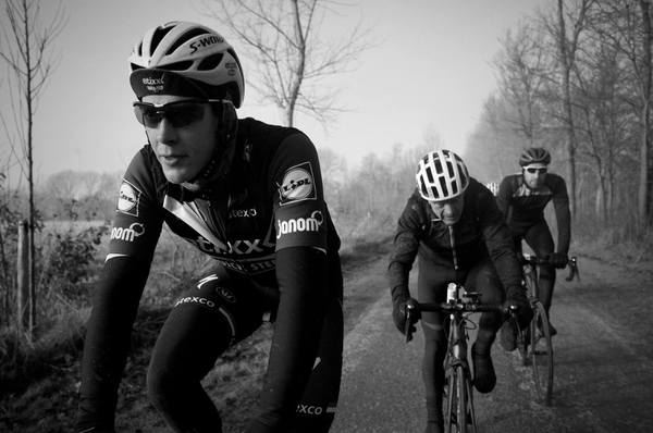 Niki Terpstra, Tim Krabbé & Paul Santen | Photo by Keir Plaice