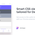CSSPeeper - Smart CSS viewer tailored for Designers