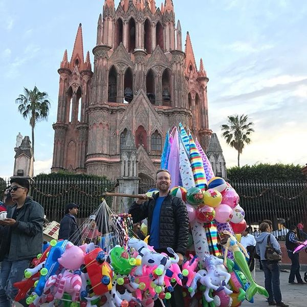 Got this sweet sales gig while in San Miguel de Allende for NYE