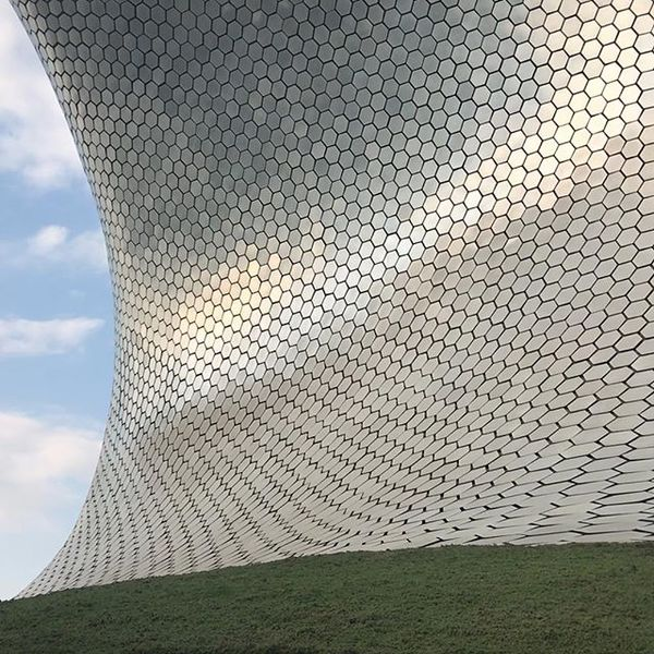 The Museo Soumaya was my favorite in Mexico City.