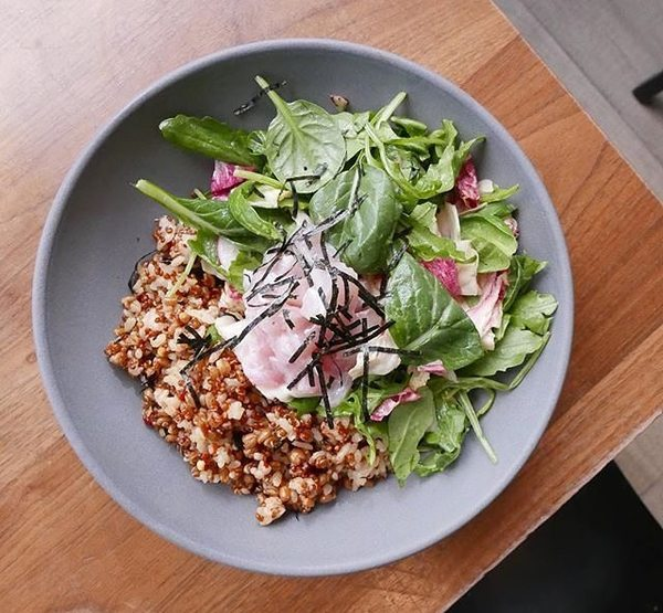 """Seafood Crudo Grain Bowl"" by Orsa & Winston (@orsaandwinston)"