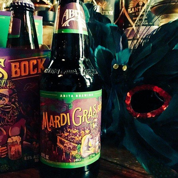New seasonal: Abita Mardi Gras Bock