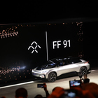 Here is Faraday Future's first production car, the FF 91