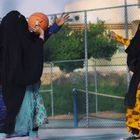 Saudi Arabian video on women's rights goes viral - Playing B-Ball & pls God, get rid of men