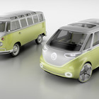 VW Taps Its Hippie Heritage With an Electric Microbus - Bloomberg