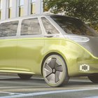 Volkswagen self-driving bus concept with a range of 270 miles