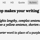 Hemingway Editor for Mac and PC