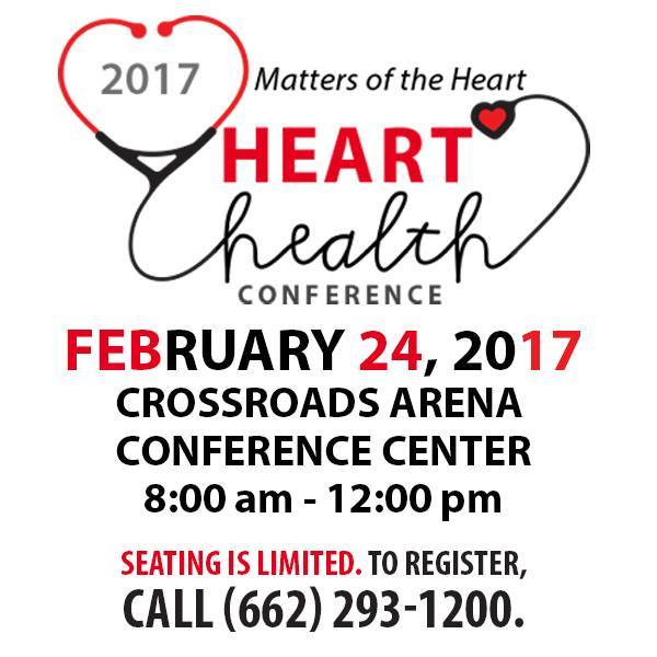 "Join MRHC for their 2017 ""Matters of the Heart"" Heart Health Conference!"