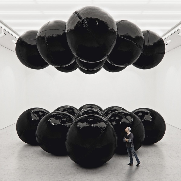 Black Balloons by Tadao Cern