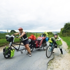 Josie Dew's family cycle tour on the Isle of Wight