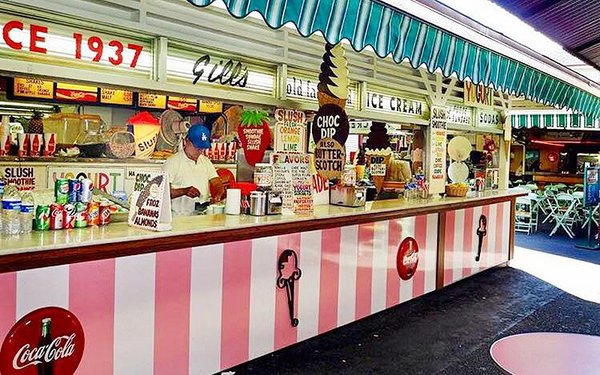 Gill's Ice Cream Parlor at the Original Farmers' Market Is Closing After 80 Years | Los Angeles Magazine