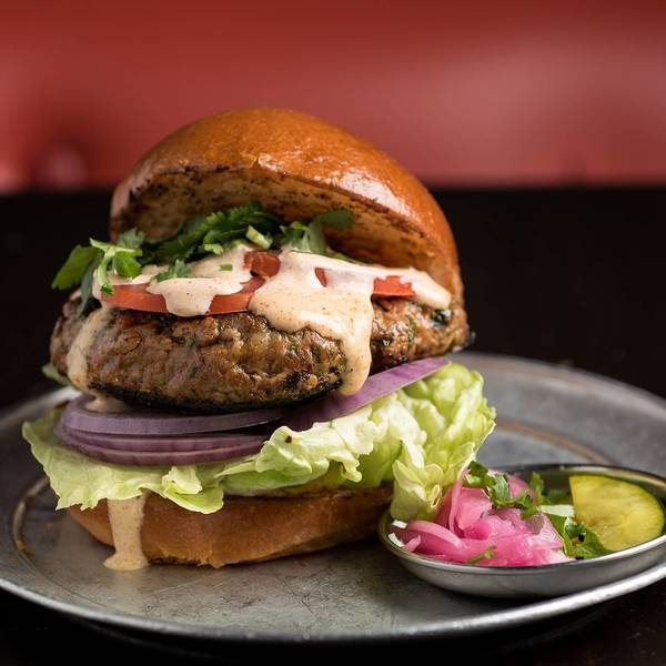 """Spiced Lamb Burger"" by Badmaash (@wonhophoto)"