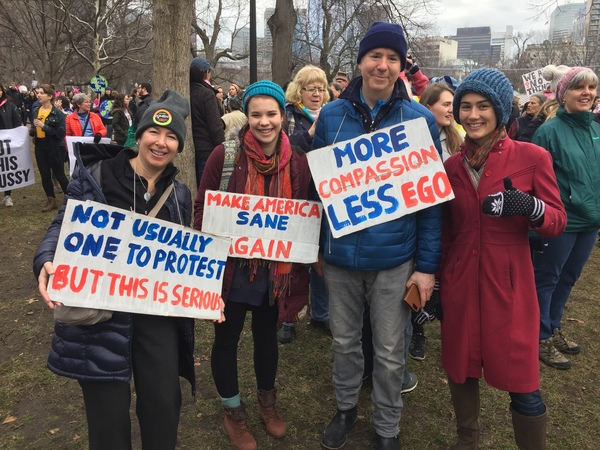 My thoughts exactly, from the #WomensMarch in Boston Common