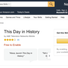 The History Channel Alexa skill is getting popular among Echo owners