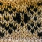 Resist: a stranded knitting chart