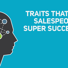 Common Traits of Successful Sales People