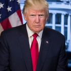This is President Trump's Official Portrait