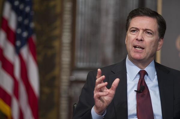 FBI-directeur James Comey.