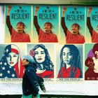 US street art celebrates common bonds