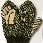 Peace de Resistance Mittens