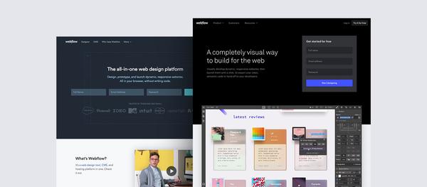 Redesigning Webflow.com