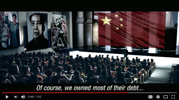 Futuristic Anti-China Ad from Citizens Against Government Waste