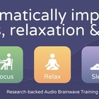 Music to improve focus, meditation & sleep.