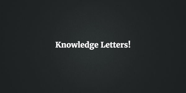 RIP Newsletters and welcome Knowledge Letters! – Hacker Noon