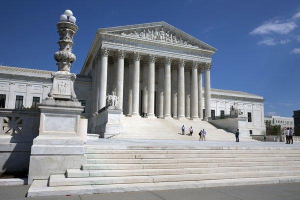 Het Amerikaanse Hooggerechtshof.