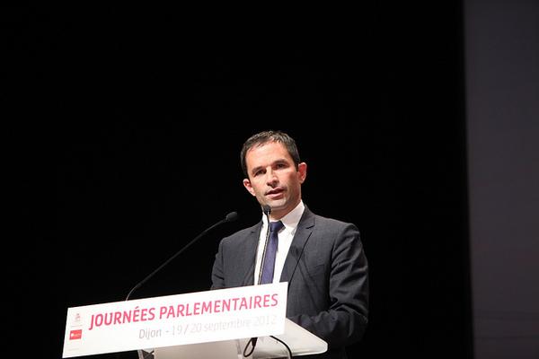 Benoît Hamon in 2012 (foto: Parti socialiste/CC)