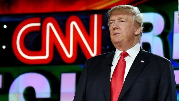 Trump heeft de oorlog verklaard aan CNN.