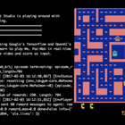 Watch AI play Atari games