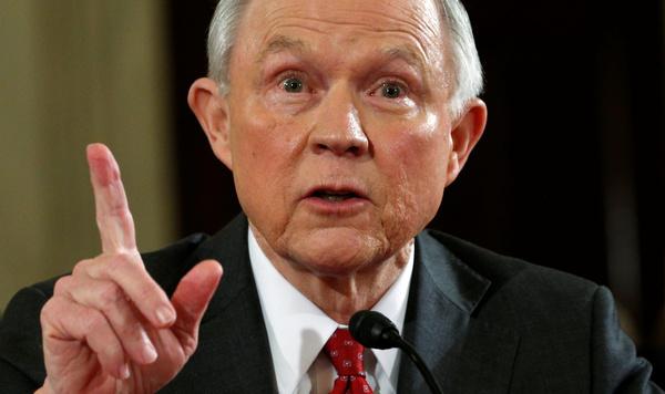 De Senaat stemt vandaag over de benoeming van Jeff Sessions als minister van Justitie (foto: Reuters)