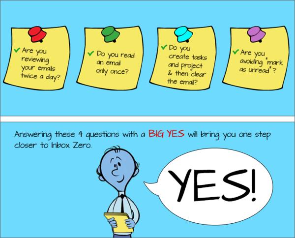 Yes! Weer een stap dichter bij Inbox Zero, a.k.a. m'n hoogste doel in het leven