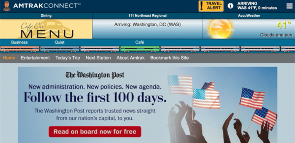 The Washington Post voor gratis